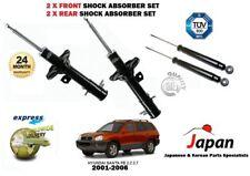 Para Hyundai Santa Fe 2001-2006 Nuevo 2x Frontal + 2x Amortiguador Trasero Shocker Set