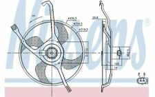 NISSENS Radiator Fan for CITROEN C3 85665 - Discount Car Parts