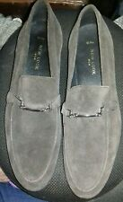 Mens Loafers Shoes UK Size 10. RRP £45. BNWT Brown Suede -Bargain