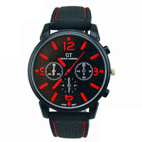 Sale Mens Watch Stainless Steel Quartz Analog Luxury Sports Date Wrist Watches