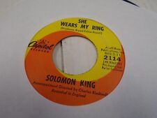 Solomon King She Wears My Ring/I Get That Feeling 45 RPM Capitol Records VG