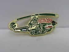 New Collectible Fighter Helicopter Military Enamel Hat Pin Lapel Pin