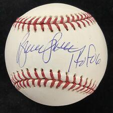 Bruce Sutter Signed Baseball Rawlings CHI Cubs Autograph + HOF 06 Inscrip JSA