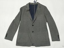 New Men's Vineyard Vines Knit Blazer Gray Harbor Sport Jacket Size 42L