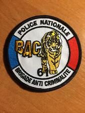 PATCH POLICE NATIONALE FRANCE - BAC 61 UNIT