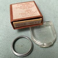 Zeiss Ikon Camera Lens Filter 22.5mm 361 UV 1X Germany Box Case Haze Ultra-Viole