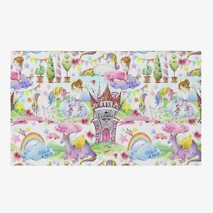 Princess Unicorn Rug Dragon Rug unicorns Floor Rug rainbow Rugs 3x5 4x6 5x8 9x12
