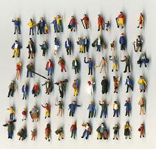 25 neue stehende Preiser Figuren - von Hand bemalt - Spur N