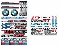 K1600GT Motorrad Aufkleber HP6 Decal 41 Sticker Laminiert BMW K1600 GT GTL 64 65