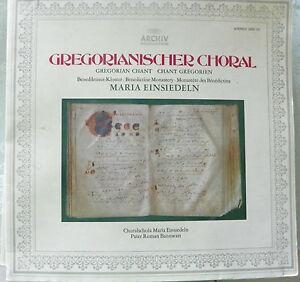 LP Gregorianischer Choral - Choralschola Maria Einsiedeln