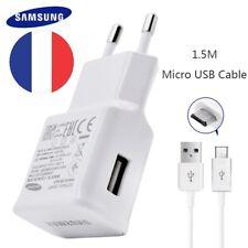 Original Samsung 2a Chargeur mural rapide Cable Cordon Micro USB