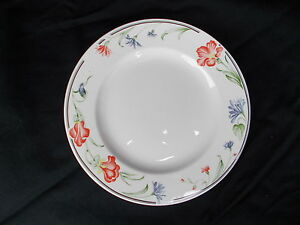 Churchill Hotelware Vitrified Floral pattern Dinner Plate Diameter 11 1/8 inches