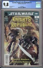 STAR WARS KNIGHTS OF THE OLD REPUBLIC 11 CGC 9.8 BOUNTY HUNTERS!
