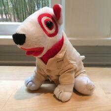 Target Safari Suit Khaki Dog Plush Stuffed Animal Bullseye Boys & Girls