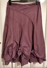 New Debenhams Red Herring Skirt Size 12 Lined/Underskirt