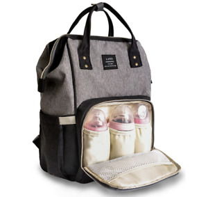 LAND LEQUEEN Mummy Baby Diaper Bag Maternity Nappy Backpack Baby Shower Gift