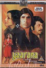 YAARANA - NEW ORIGINAL BOLLYWOOD DVD - AMITABH BACHCHAN & AMJAD KHAN