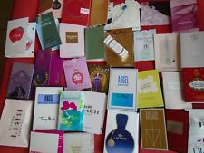 LADIES SAMPLES PERFUME VIALS 40 FREEPOST  BURBERRY DIOR ALIEN COACH BOSS 007