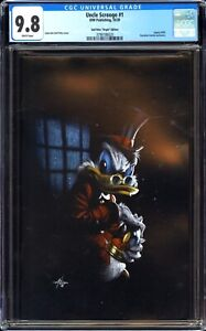 "UNCLE SCROOGE 1 SS 9.8 GABRIELE DELL'OTTO X-MAS ""BAH HUMBUG"" VIRGIN VARIANT MINT"
