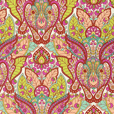 By 1/2 Yard ~ Free Spirit Tula Pink Fabric Slow & Steady ~ Hare in Orange Crush
