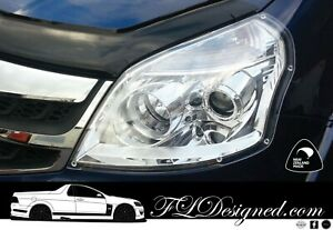 2012-2019 Foton Tunland  CLEAR Headlight Protectors, Covers, guards