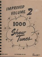Volume 1 & Improved Volume 2 1000 SHOW TUNES Songs Lounge Dance Professional Use