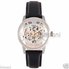 Fossil Original ME3041 Men's Townsman Automatic Black Leather Watch 44mm