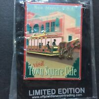 DLR Annual Passholder Dining Series Town Square Cafe LE Disney Pin 34694