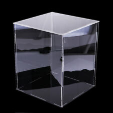 Clear Acrylic Display Box Dustproof Protection Cube for Doll Car Model Toys