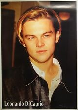 Leonardo DiCaprio 26x36 Leather Celebrity Art Movie Poster