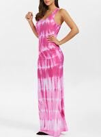Maxi Dress - Underwater Style Printed / Tank Top