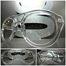 New CLASSIC VINTAGE RETRO Style Clear Lens EYE GLASSES Crystal Transparent Frame