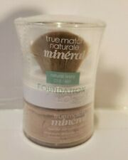 Loreal True Match Mineral Foundation NATURAL IVORY Sealed With Brush  0.35 oz