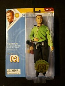 "CAPTAIN KIRK - Classic Star Trek 8"" MEGO Action Figure with Tribbles # 949"