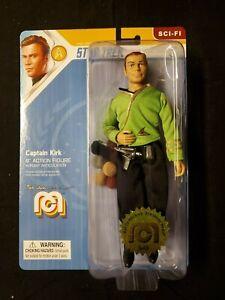 "CAPTAIN KIRK - Classic Star Trek 8"" MEGO Action Figure with Tribbles # 949"