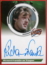 BLAKE'S 7 - RICHARD FRANKLIN as Trooper - Autograph Card, Unstoppable Cards 2013