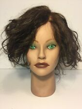 CLIC Mannequin Head Angel 100% Human Hair Cosmetology School