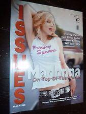 MADONNA Ireland's Issues Magazine IRISH 2000 Music Promo RARE