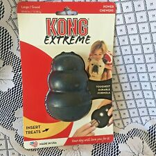 Dog Toys KONG EXTREME Rubber LARGE For Power Chewers USA
