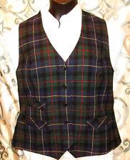 Pendleton 100% Virgin Wool Woman Size 12 or 14, L / XL USA Made Vest Vintage VTG