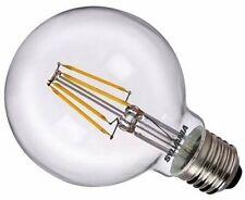 3x Globe LED Filament 80mm 5w 640lm=50w ES/E27 2700k 240v SYLVANIA