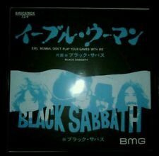 Black Sabbath - Evil woman, don't play your games with me  Vinyl Limited Edition