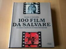 100 film da salvare Di Giammatteo Mondadori Libro cinema rilegato illustrato 1a