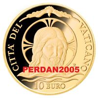 NEU - VATIKAN 2020 10 EURO GOLD DIE TAUFE PP BE FS PROOF !! VVK !!  VATICANO