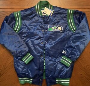 Seattle Seahawks Vintage Starter Jacket NWT Men's Sz Medium
