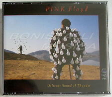 Pink Floyd Delicate Sound of Thunder 2cd FATBOX 1988 EMI Swindon Made in Holland