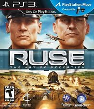 RUSE The Art Of Deception PS3