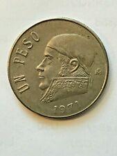 1971 Un Peso, Mexico 1 Peso