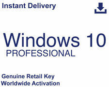 Windows 10 Professional 32/64Bit Retail | Also Upgrade from Home