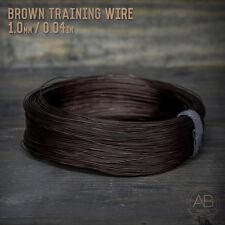 American Bonsai Brown Aluminum Training Wire - 1.0mm - 1 kilogram - 1,575ft